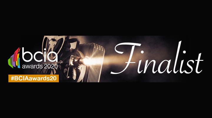 Ecopilot named as a finalist in FOUR categories at the BCIA awards 2020